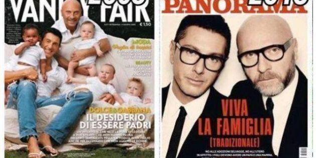 Dolce e Gabbana sulla famiglia naturale, 10 anni fa la pensavano diversamente: