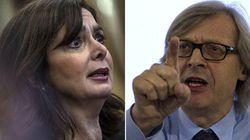 Sgarbi attacca Boldrini: