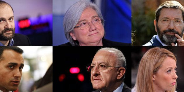 Politica a colpi di querele. Di Maio, De Luca, Meloni e Alemanno trascinano i loro avversari in