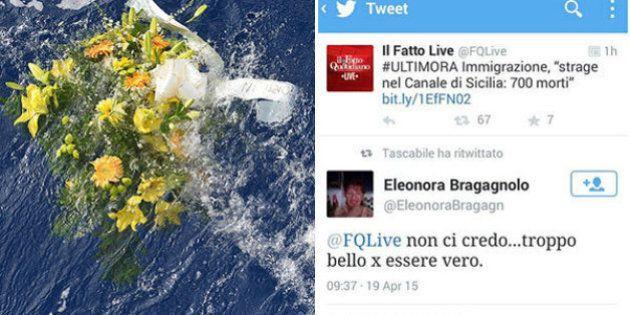 Strage di migranti nel canale di Sicilia: i commenti su Twitter e Facebook: