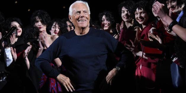 A Giorgio Armani il Premio Parete:
