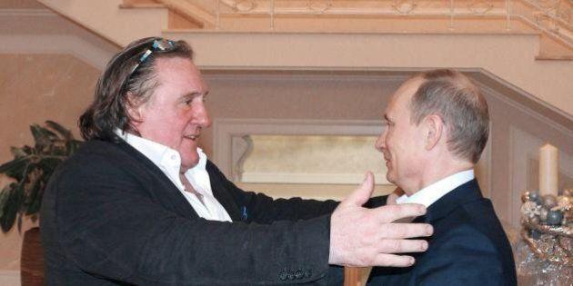 Gérard Depardieu difende Valdimir Putin: