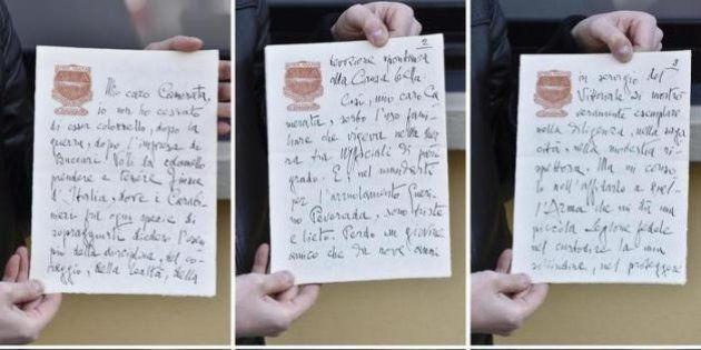 Scoperto dna di Gabriele D'Annunzio da un fazzoletto del poeta: svelata una lettera inedita del 1935