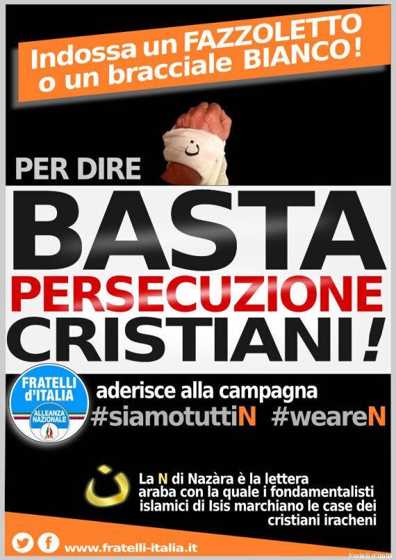 Isis, Fratelli d'Italia e il blitz sotto lo studio del sindaco Giuliano Pisapia: