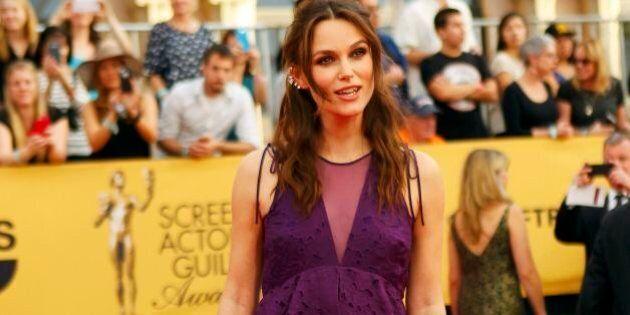 Keira Knightley incinta, l'attrice anti diva anche in gravidanza: