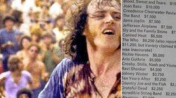 Per cantare a Woodstock sono stati pagati una