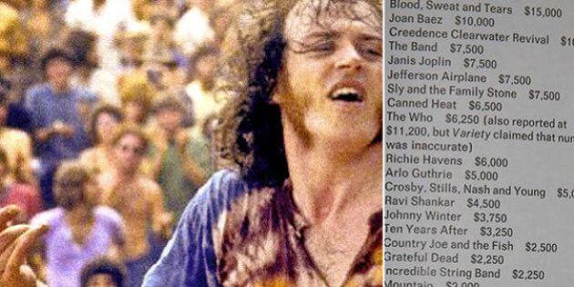 Woodstock, pubblicati i compensi degli artisti: Jimi Hendrix e i Blood, Sweat and Tears sono stati i...