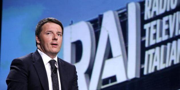 Riforma Rai: Renzi annuncia linee guida e allontana l'ipotesi decreto: