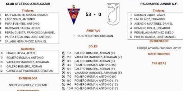 Aznalcázar Atlético Palomares 53-0: la partita tra under 11 finisce in umiliazione. In Spagna è polemica...