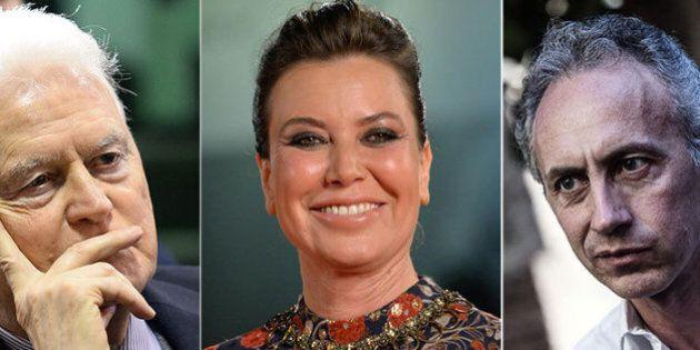 La Trattativa, Sabina Guzzanti replica a Gian Carlo Caselli. E Marco Travaglio prova a mediare (FOTO,