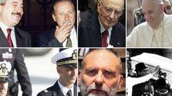 Da Napolitano a Falcone, dal piccolo Taché agli ostaggi: tutti i