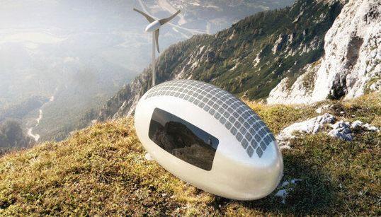 Una capsula ecologica per abitare in qualsiasi luogo della Terra