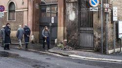 Crolla un pezzo della breccia di Porta Pia (FOTO,