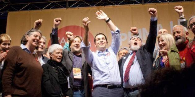 Alexis Tsipras, mentre il leader greco arriva a Roma, l'Altra Europa si spacca: mail di fuoco tra i promotori,...