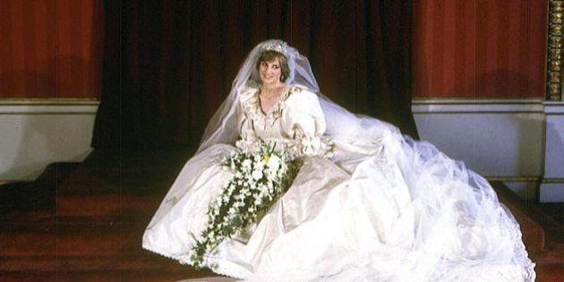Lady Diana, per il compleanno di Harry il regalo è l\u0027abito da sposa