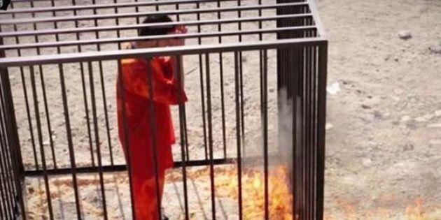 Isis, pilota giordano Muad Kasasbeah arso vivo in una gabbia. Nuovo video