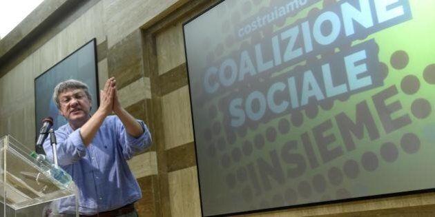 Da Marx a Churchill, dalla Fiom alla coalizione sociale: Landini lancia la sua creatura. Il 20 in piazza...