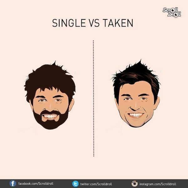 Single o in coppia? Ecco le differenze tra un uomo con (e senza) una fidanzata
