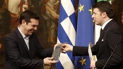 Regalare una cravatta a Tsipras, un invito a