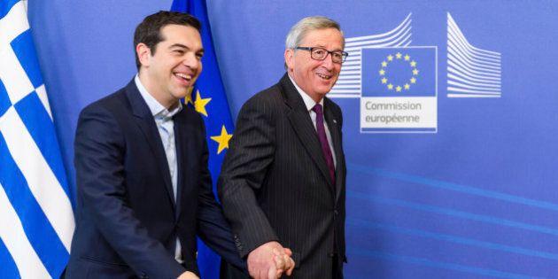 Alexis Tsipras a Bruxelles incontra Jean-Claude Juncker: