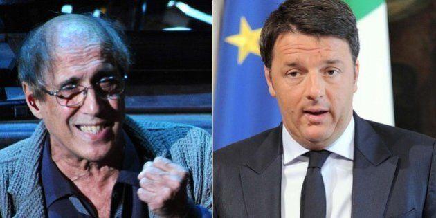 Adriano Celentano a Matteo Renzi sul naufragio: