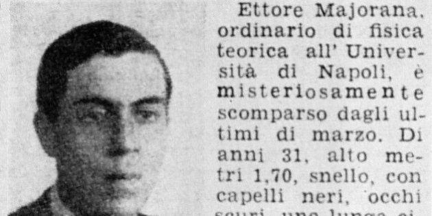 Ettore Majorana scomparso: la procura di Roma accerta che il celebre fisico era vivo tra il 1955 e il...