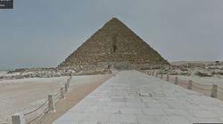 Vuoi visitare le Piramidi restando seduto al pc?