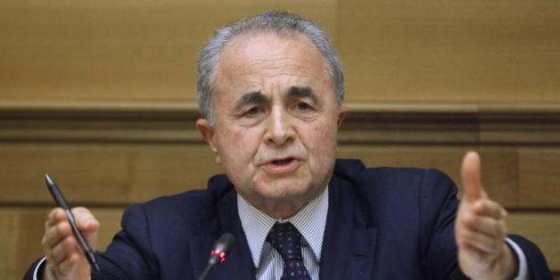 Assemblea Pd, il fondatore dell'Ulivo Arturo Parisi d'accordo con il rottamatore dell'Ulivo Matteo Renzi