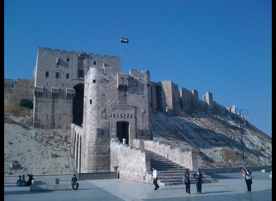 Aleppo: one of the oldest continuously inhabited cities in the world, home to my father's ancestry. The Citadel is known to d