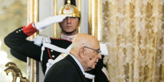 Domani gli auguri e l'addio di Giorgio Napolitano alle alte cariche dello Stato: dimissioni possibili...