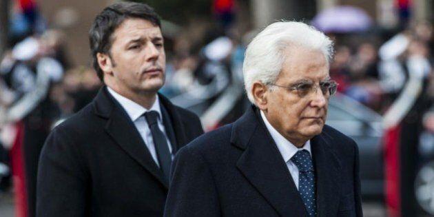 Sondaggio Datamedia, Matteo Renzi cresce nei consensi dopo l'elezione di Sergio Mattarella. Male Forza...