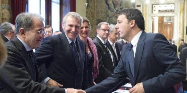 Quirinale. Incontro tra Matteo Renzi e Romano Prodi: avvertimento a Pd e Forza