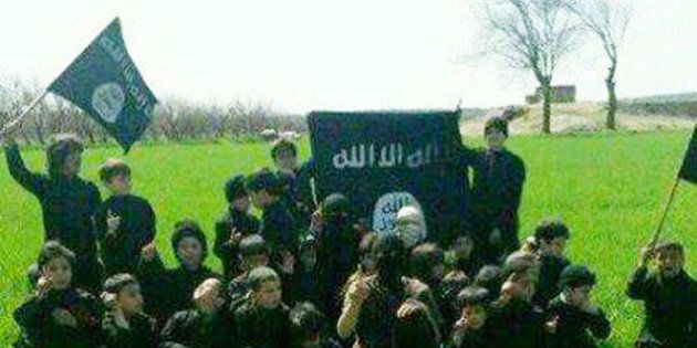 This undated image posted online and made available on Thursday, Nov. 20, 2014 by Raqqa Is Being Slaughtered...