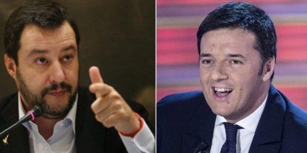 Regionali, Matteo Salvini a Renzi: