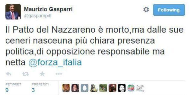 Maurizio Gasparri scrive