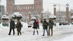 Maltempo, è arrivata big snow: nevicate al Nord e forti piogge al Sud