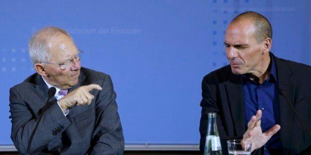 Grecia, Wolfgang Schaeuble incontra Yanis Varoufakis: