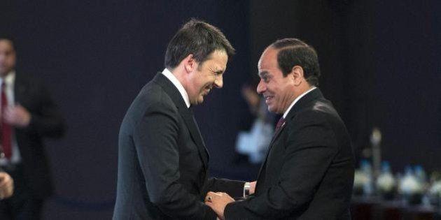 Matteo Renzi in Egitto: