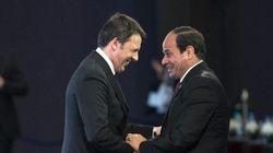 Renzi in Egitto: