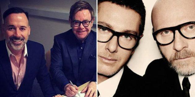 Elton John contro Dolce e Gabbana: