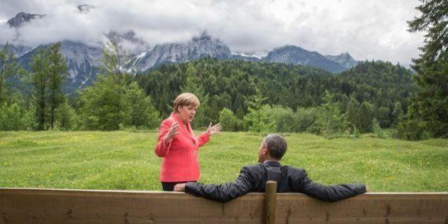 G7 Schloss Elmau, accordo sul clima: tetto di 2 gradi all'aumento delle temperature. Renzi: