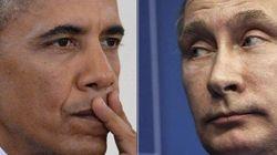 Barack e Vladimir si freddano a distanza.