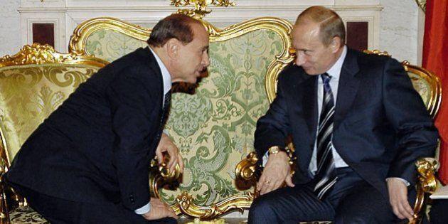 Vladimir Putin Silvio Berlusconi: possibile incontro a Roma