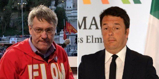 Maurizio Landini Vs Matteo Renzi e Corriere della Sera: