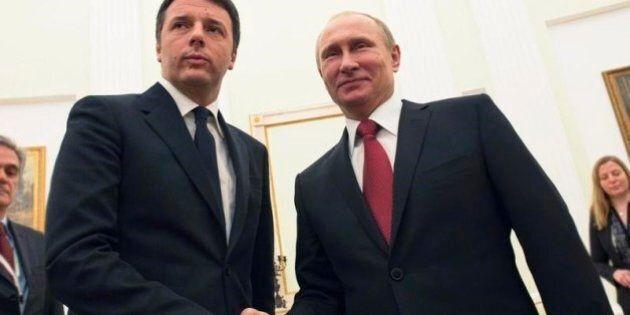 Vladimir Putin in Italia. Cambiano premier, presidenti, manager e papi, ma lo zar torna sempre in visita...