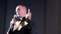 Quel dito medio di Varoufakis alla Germania