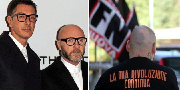 Roberto Fiore di Forza Nuova invia tessere ad honorem a Dolce e Gabbana: