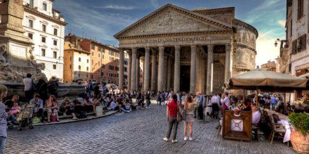 Nel centro storico di Roma è meglio una