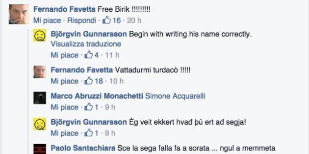 Tifosi del Pescara dichiarano guerra all'Islanda: