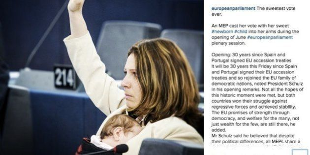 M5s, l'account Instagram del Parlamento europeo immortala